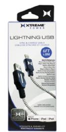 8 of Travel Size Lighting Charger - Xtreme Lightning Sync Charge Cable For Iphone Ipad 4 Foot