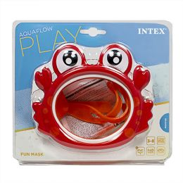 12 of Travel Size Intex Kids Fun Swim Mask Ages 3 to 8