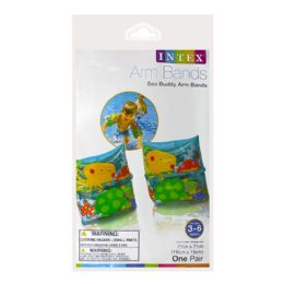 72 of Arm Bands - Intex Arm Bands Sea Buddy Ages 3 To 6