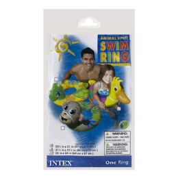 48 of Swim Ring - Intex Swim Ring With Animal Head Ages 3 to 6