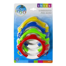 12 of Fish Rings - Intex Underwater Fish Rings Pack Of 4