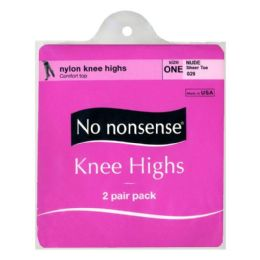 36 of Kneehighs - No Nonsense Kneehighs Nude 2 Pairs