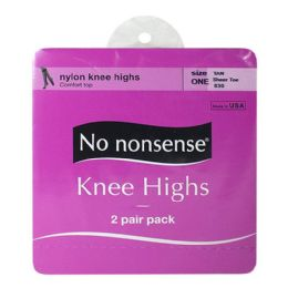 36 of Kneehighs - No Nonsense Kneehighs Tan 2 Pairs