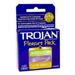 36 of Condoms - Trojan Condoms Pleasure Pack