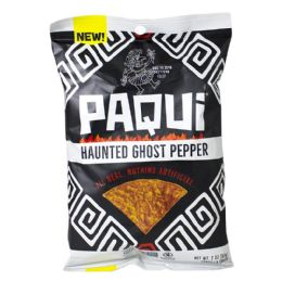 48 of Ghost Pepper Chips - Paqui Haunted Ghost Pepper Chips 2 oz.