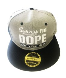 60 of Dope Snapback Hat Fitted Cap Flat Bill In Assorted Color