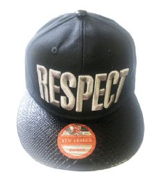 60 of Respect Snapback Hat Fitted Cap Flat Bill In Assorted Color