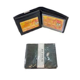24 of Men's Leather Wallet [Bi-Fold]