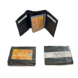 24 of Men's Leather Wallet [Tri-Fold]