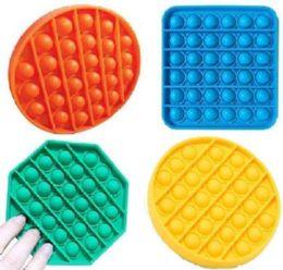 24 of Push Pop Fidget Toy [solid 3 Styles]