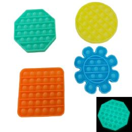 24 of Push Pop Fidget Toy [glow 4 Styles]
