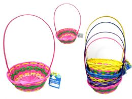 36 of Easter Basket Oval Woven