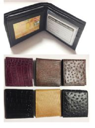 24 of Bi Folded Wallet In 6 Assorted Colors