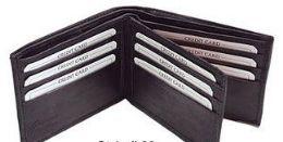 24 of Bi Folded Wallet In Black