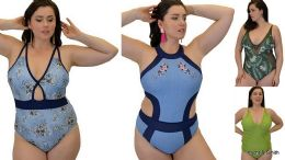12 of Yacht & Smith Plus Size Womens Assorted Bathing Suit Lots Limited Supply