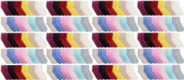 120 of Yacht & Smith Womens Soft Fuzzy Gripper Crew Socks, Assorted Solid Size 9-11