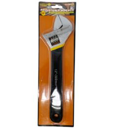 24 of 12 INCH ADJUSTABLE WRENCH