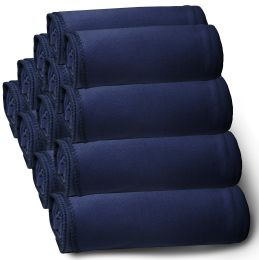60 of Yacht & Smith 50x60 Fleece Blanket, Soft Warm Compact Travel Blanket, NAVY BLUE
