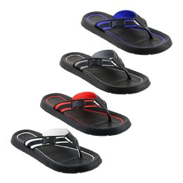 36 of Mens Flip Flops In Assorted Colors