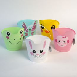 30 of Pail Easter Character 5asst W/handle 7.5d X 8h/easter ht