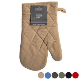 72 of Oven Mitt 7x11 6 Assorted Colors Peggable