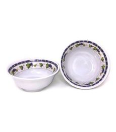 60 of 7 Inch Bowl Melamine Purple Grapes