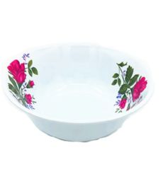 60 of 8 Inch Bowl Melamine Pink Flower