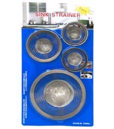 72 of 4 Piece Strainer Set