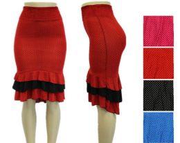 48 of Womens Fashion Ruffled Mermaid Skirt