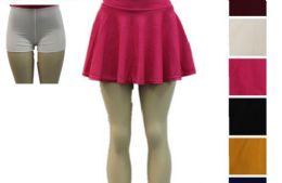 48 of Women Tennis Skirts Inner Shorts Elastic