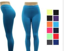 48 of Women Full Length Cotton Solid Leggings