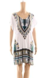 72 of Womens Summer Poncho Top Assorted Styles