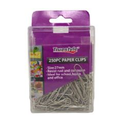 96 of 250 Piece Paper Clip In Plastic Case
