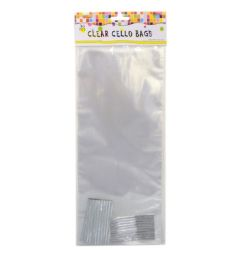 72 of 30 Piece Clear Cello Bags