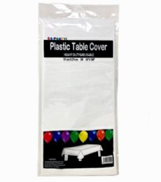 96 of Table Cover White