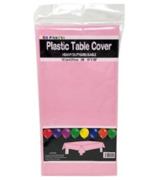 96 of Table Cover Light Pink 54X108