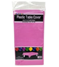 96 of Table Cover Fuschia 54X108