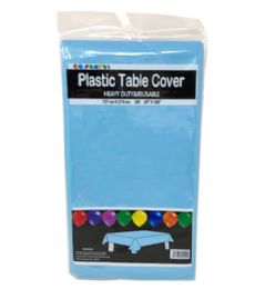 96 of Table Cover Light Blue 54X108