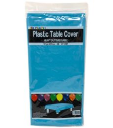 96 of Table Cover Turquoise 54X108