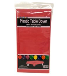 96 of Table Cover Red 54X108