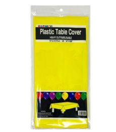 96 of Table Cover Yellow 54X108