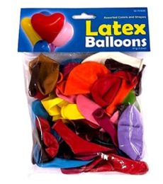 72 of Party Balloon Assorted Shape And Color