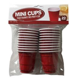 96 of 20 Count Mini Cup 2 Oz