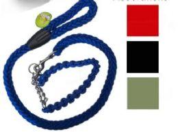24 of Braided Leash Collar Set