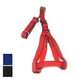 24 of Dog Harness And Leash Medium In Assorted Colors
