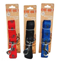 36 of Leash Paws Large 72 Inch Assorted Color