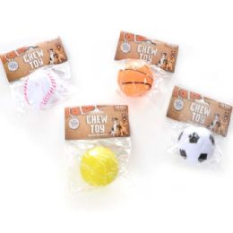 120 of Squeaky Ball Pet Toy Assorted Style