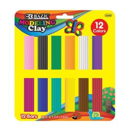24 of Modeling Clay Bar 12 Colors 230 Grams