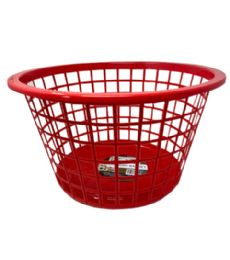 96 of Plastic Laundry Basket Assorted Color