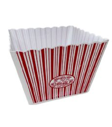 96 of Plastic Popcorn Container Square Large